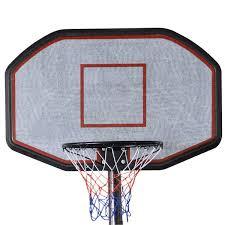 costway indoor outdoor 10 u0027 adjustable height portable basketball
