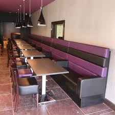 Purple Dining Chairs Dining U0026 Kitchen Cool Purple Black Vinyl Upholstery Banquette