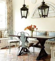 amenagement cuisine rectangulaire design interieur coin repas cuisine idées aménagement table
