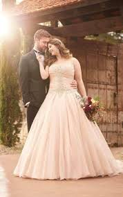 pink plus size wedding dresses wedding gowns plus size pink princess wedding dress essense of
