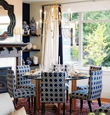 blue dining room furniture navy blue dining chairs cottage dining room sarah richardson