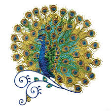 peacock machine embroidery designs swnpa131 peacock embroidery