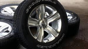 dodge ram sport wheels 2016 oem 20 dodge ram sport aluminum wheels and tires take
