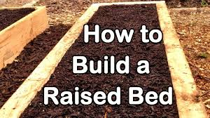how to build a raised garden bed with wood easy ez u0026 cheap