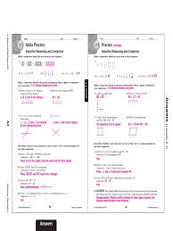 chapter 2 skills practice answers conjecture angle