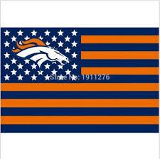 Custom Team Flags 3ft X 5ft Denver Broncos Flag Polyester Denver Broncos Banner