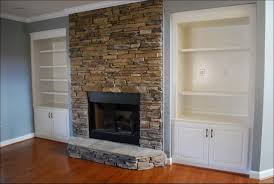 stone fireplaces painted white diy stone fireplace with airstone