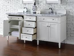 contemporary 72 inch double sink bathroom vanity cottage white
