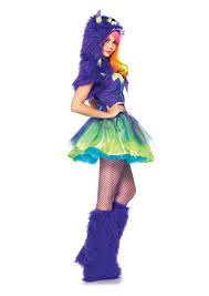 2 pc purple posh monster costume amiclubwear costume online
