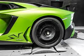 lamborghini aventador sv gets more power and torque from mcchip