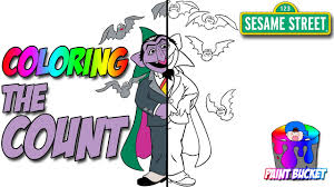 sesame street u0027s the count coloring book sesame street coloring
