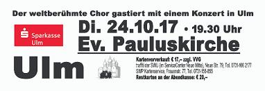 Bad Bergzabern Plz 89073 Ulm Don Kosaken Chor Wanja Hlibka