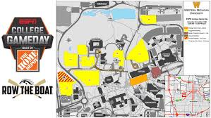 Western Michigan University Campus Map by Official Site Of Western Michigan Athletics