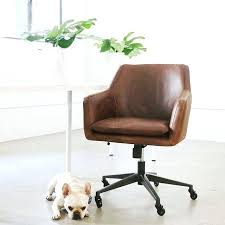 Leather Office Desk Chairs Brown Leather Office Chair Australia Photogiraffe Me