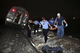 photos the horrific scene of the amtrak philadelphia crash that