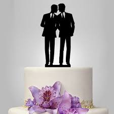 same wedding toppers silhouette wedding cake topper same cake topper lgbtaq