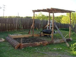 Pergola Swings Pergola Garden Bed Late Bloom America