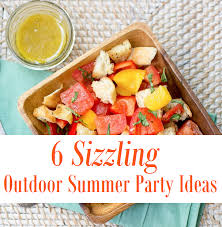 cuisine outdoor 6 sizzling outdoor summer ideas thegoodstuff