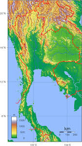Mekong River Map River Systems Of Thailand Wikipedia