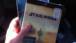 i got star wars the complete saga blu ray boxed set from best buy