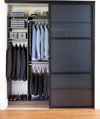 Espresso Closet Doors Modern Closet With High Ceiling By Transform Home Zillow Digs
