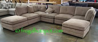 Sofa Sectionals Costco Bainbridge 7 Pc Modular Fabric Sectional Costco Frugalhotspot