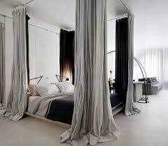 Curtains For Canopy Bed Innovative Modern Canopy Bed With Four Poster Bed With Canopy Bed