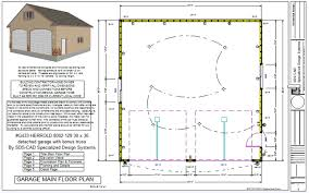 2 car garage plans with loft apartments handsome herrold detached garage bonus truss car