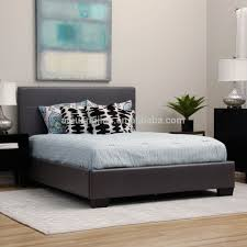 Bed Frame Simple Best Price Pu Leather Bed Very Low Price Cheap Pvc Leather Bed