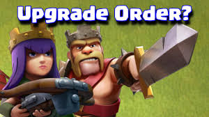 clash of clans archer queen clash of clans which hero to upgrade first barbarian king or