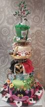 alice in wonderland themed wedding cake www icedgarstang co uk