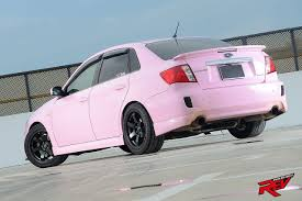 pink subaru get pinked subaru impreza 4dr 2 5 wrx sti