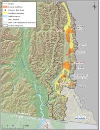 Elk Population Map Assessing The Impacts Of Mining In The Transboundary Flathead And