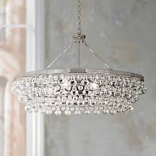 Robert Bling Chandelier Robert Bling Collection Large Nickel Chandelier V4913