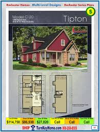 tipton rochester modular home cape cod multi level plan price