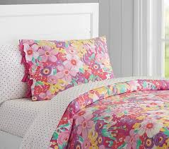 poppy duvet cover pottery barn kids