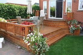 Backyard Decks And Patios Ideas Lovable Small Backyard Deck Patio Ideas Deck And Patio Ideas For