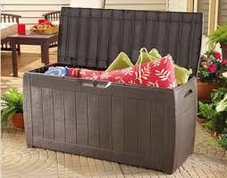 bargain outfitters 71 gallon outdoor deck storage box u2013 39 99