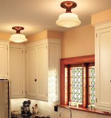 Schoolhouse Lights Kitchen Miles Craftsman And Kitchens