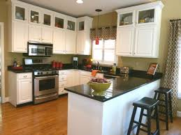 white island also cabinetry with black galaxy granite countertop