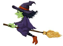 quidsup halloween moon with witch jpg halloween witch decorations
