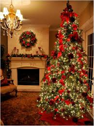 brown christmas tree sale dining room christmas decorations chocolate walls white