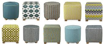 Padded Ottoman Upholstered Ottoman Tribeca Ottoman Square Silhouette 18