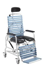 Shower Chairs With Wheels Revive Tilt U0026 Recline Shower Commode Cs385 Products