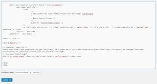 Resume Footer Wordpress Integration Shoprocket