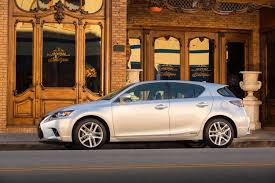lexus hatchback 2014 2016 lexus ct 200h debuts with minor changes