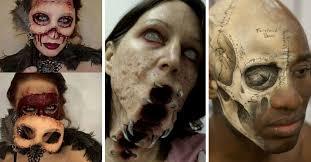 25 espeluznantes ideas para un maquillaje de halloween