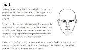 best haircut for heart shaped face and thin hair to choose the right haircut for your face shape