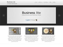 business lite free responsive business wordpress theme