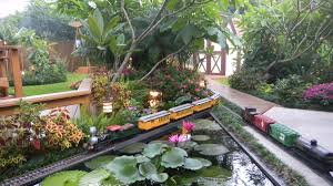 video norma and walter u0027s impressive backyard train set fine